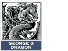 The George and Dragon Ightham Logo